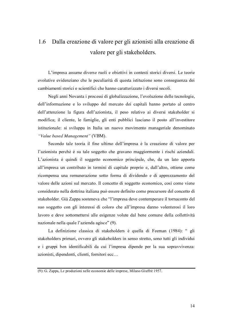 Anteprima della tesi: La responsabilità sociale delle imprese nel settore agroalimentare; il caso della C. Fiorucci spa, Pagina 14