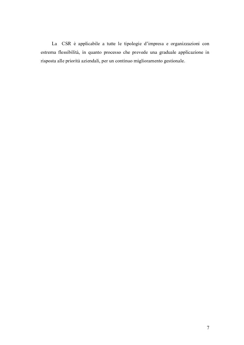 Anteprima della tesi: La responsabilità sociale delle imprese nel settore agroalimentare; il caso della C. Fiorucci spa, Pagina 7