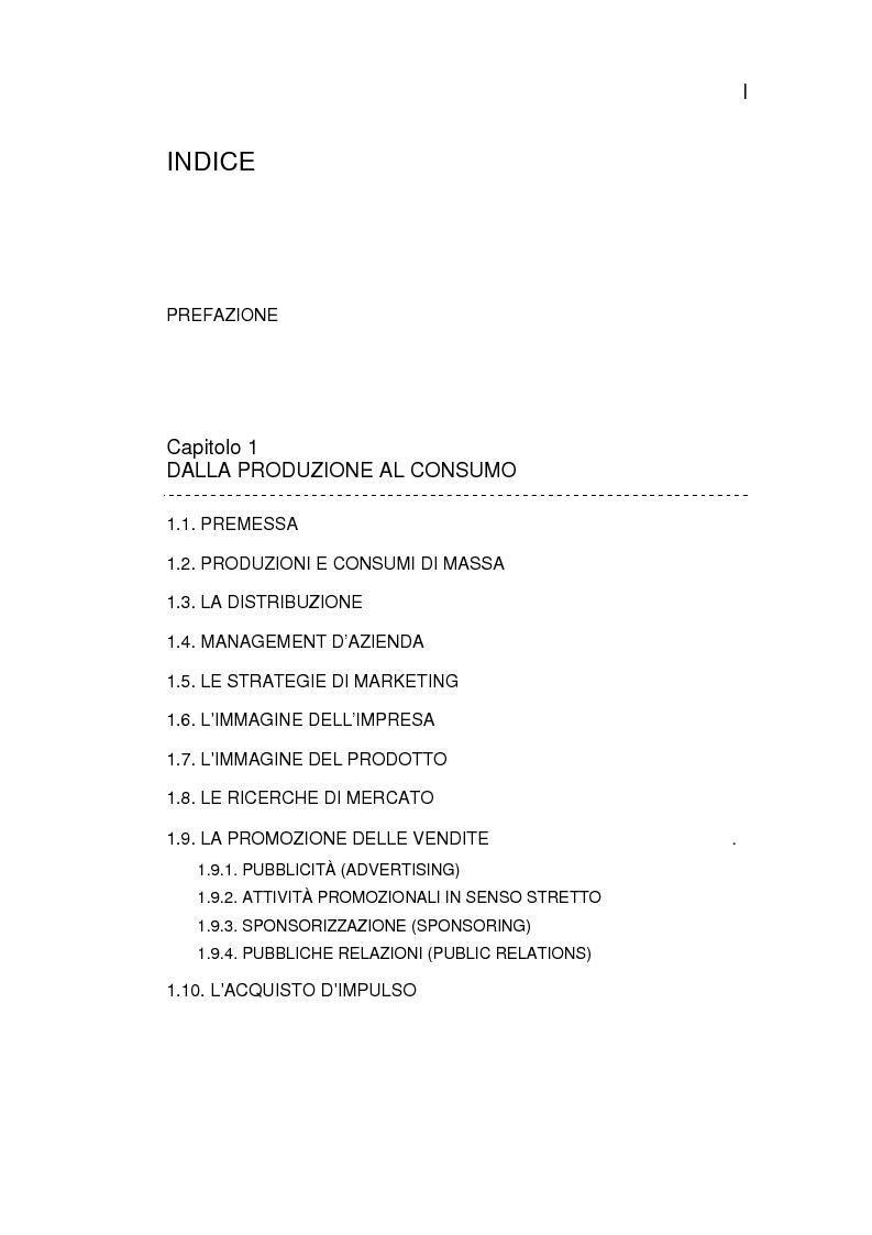 Indice della tesi: Il Mercato Discografico - contesto, caratteristiche e proposta di ricerca, Pagina 1