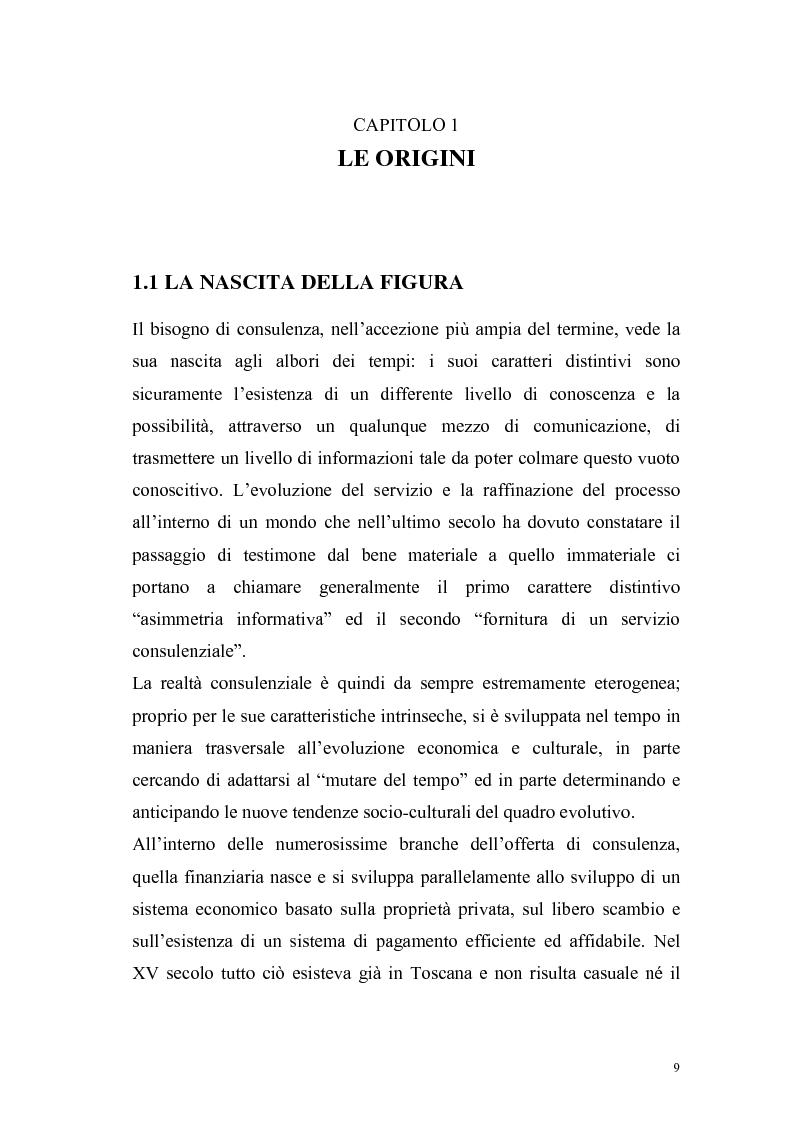 Anteprima della tesi: Il consulente di investimento: una sfida di democrazia finanziaria, Pagina 6
