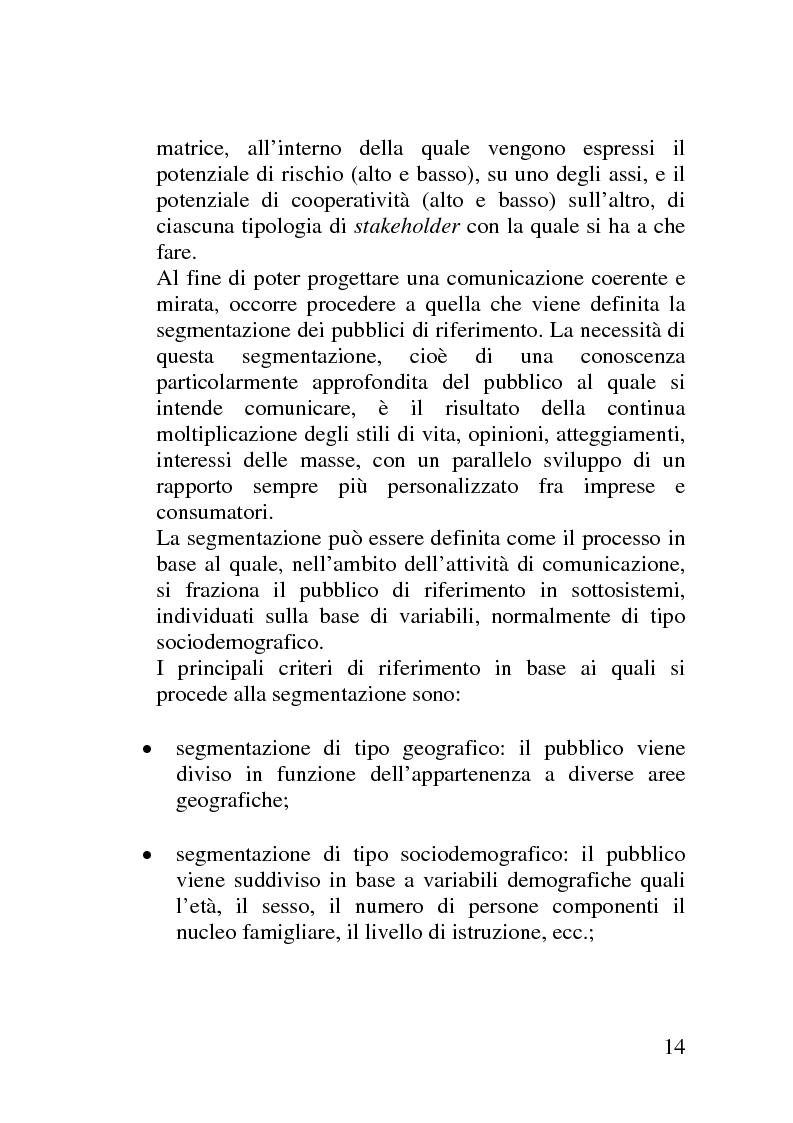 Anteprima della tesi: Il mercato delle sponsorizzazioni culturali in Italia, i casi Corriere della Sera e Vodafone, Pagina 10