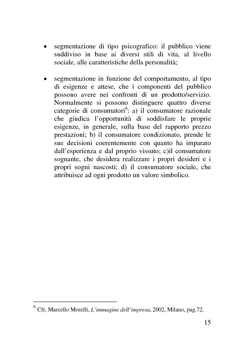 Anteprima della tesi: Il mercato delle sponsorizzazioni culturali in Italia, i casi Corriere della Sera e Vodafone, Pagina 11