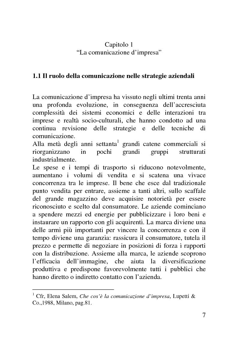 Anteprima della tesi: Il mercato delle sponsorizzazioni culturali in Italia, i casi Corriere della Sera e Vodafone, Pagina 3