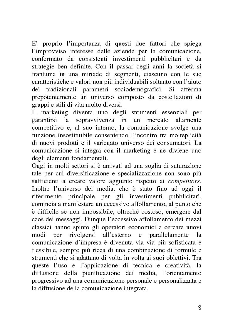 Anteprima della tesi: Il mercato delle sponsorizzazioni culturali in Italia, i casi Corriere della Sera e Vodafone, Pagina 4