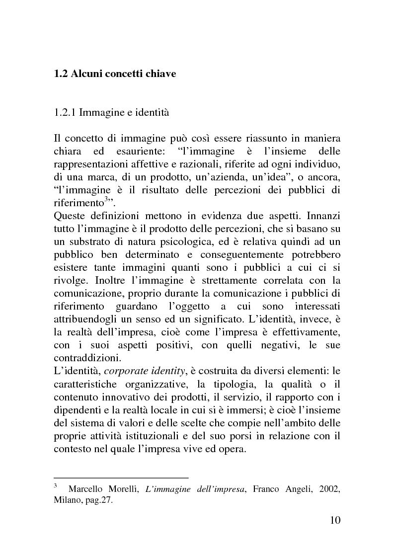 Anteprima della tesi: Il mercato delle sponsorizzazioni culturali in Italia, i casi Corriere della Sera e Vodafone, Pagina 6