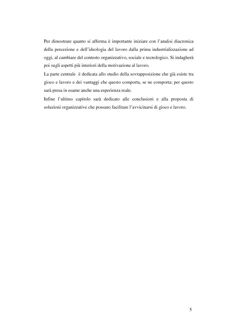 Anteprima della tesi: Gli aspetti ludici del lavoro, Pagina 2