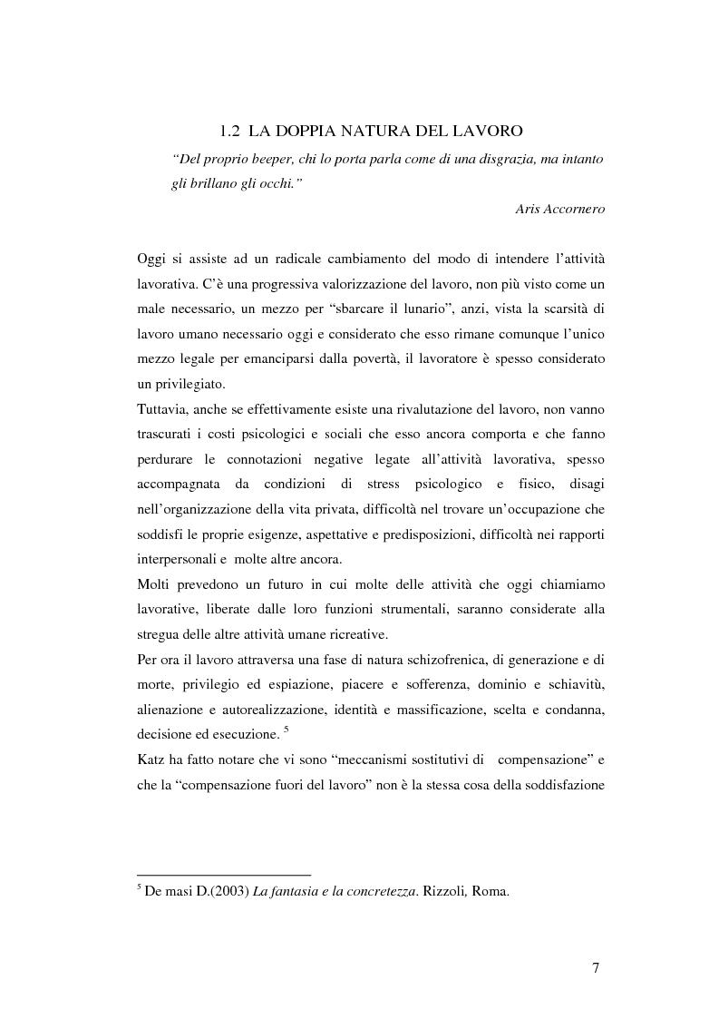 Anteprima della tesi: Gli aspetti ludici del lavoro, Pagina 4