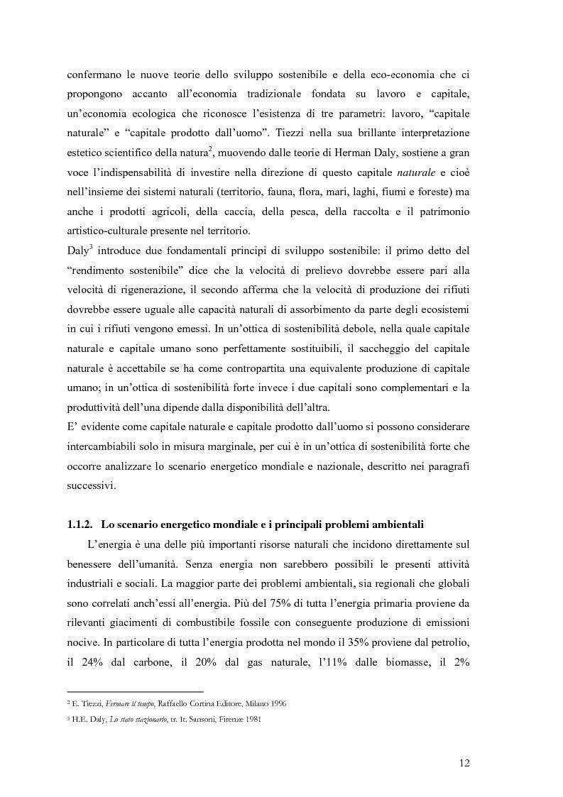 Anteprima della tesi: Analisi e caratteristiche di una nuova filiera di biocarburanti in Toscana, Pagina 6