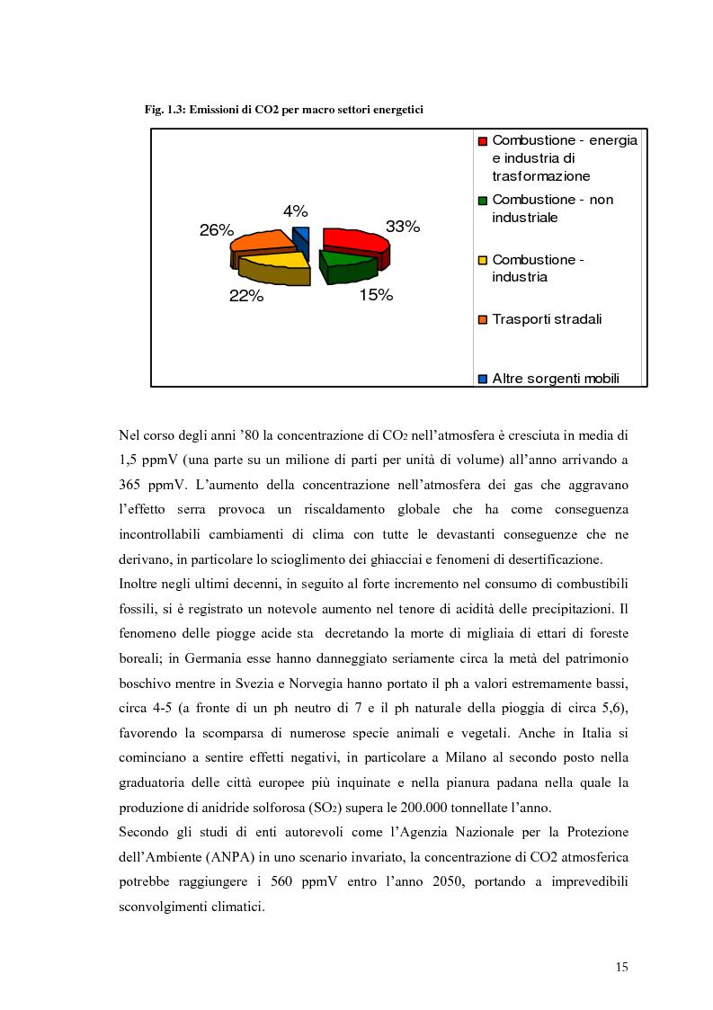 Anteprima della tesi: Analisi e caratteristiche di una nuova filiera di biocarburanti in Toscana, Pagina 9
