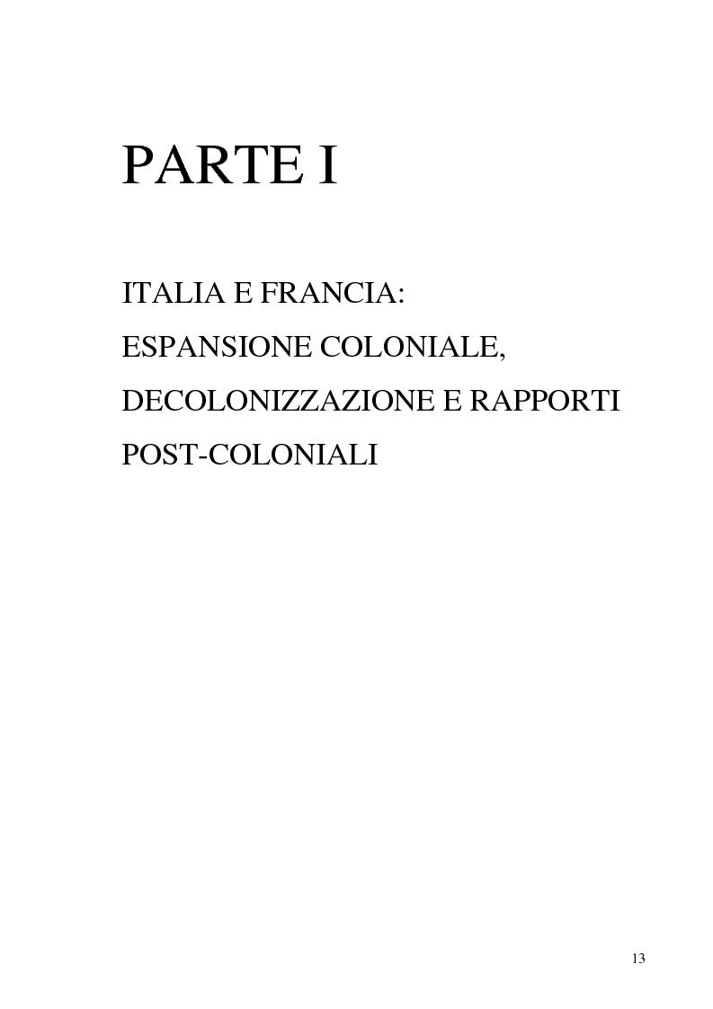 Anteprima della tesi: Terre di Islam. Italia e Francia nel mutare di un rapporto., Pagina 10