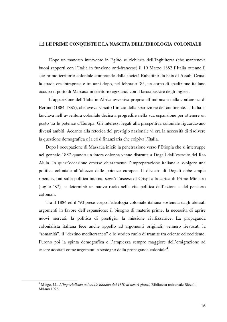 Anteprima della tesi: Terre di Islam. Italia e Francia nel mutare di un rapporto., Pagina 13