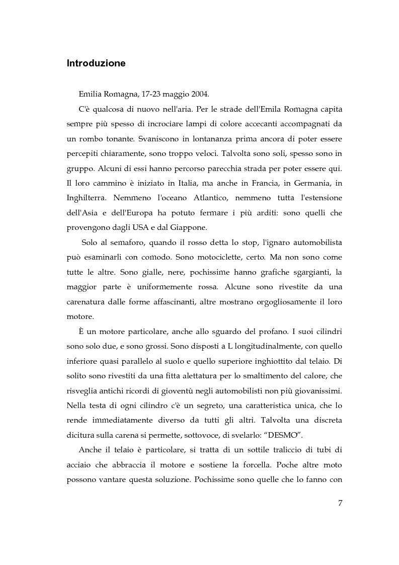 Anteprima della tesi: Il marketing tribale nel mercato motociclistico: il caso Ducati, Pagina 1