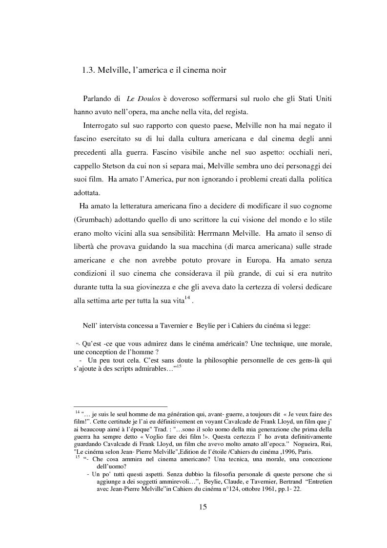 Anteprima della tesi: Il cinema noir di Jean-Pierre Melville: la circolarità della simulazione, Pagina 12