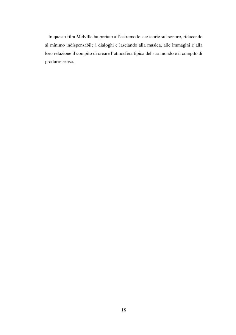 Anteprima della tesi: Il cinema noir di Jean-Pierre Melville: la circolarità della simulazione, Pagina 15