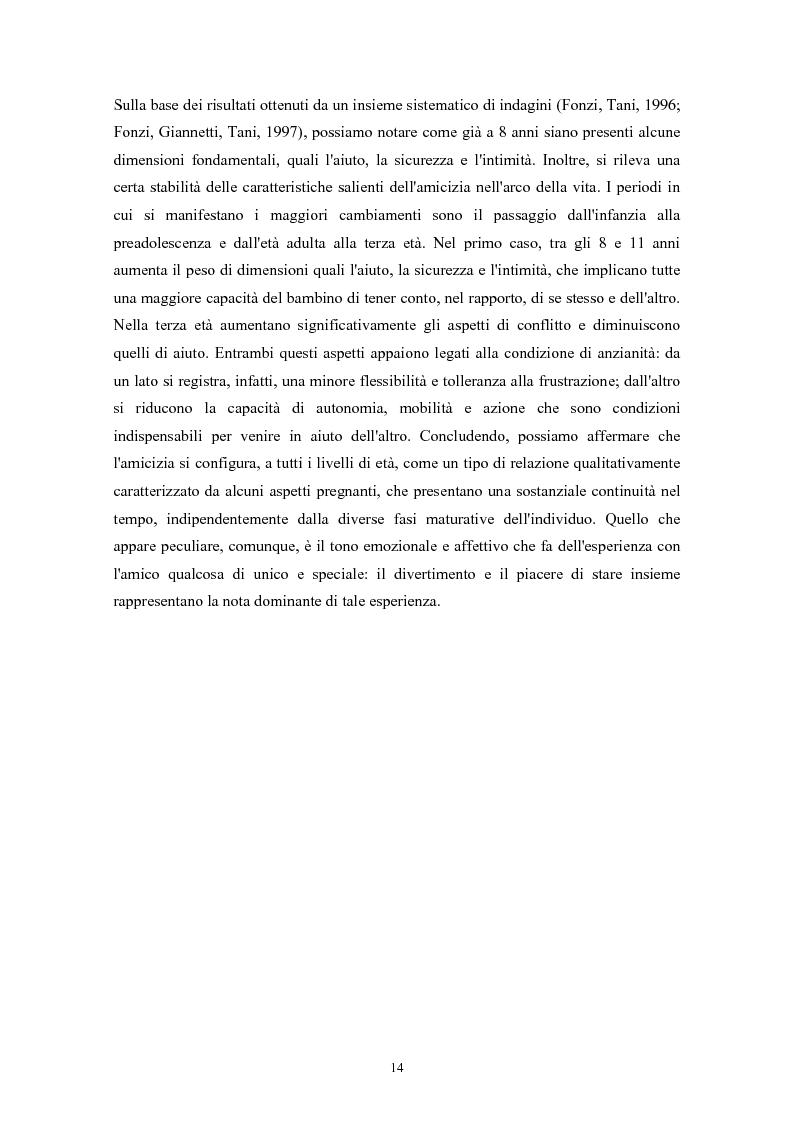 Anteprima della tesi: Caratteristiche temperamentali e stili di attaccamento nello sviluppo della competenza sociale: uno studio osservativo, Pagina 10