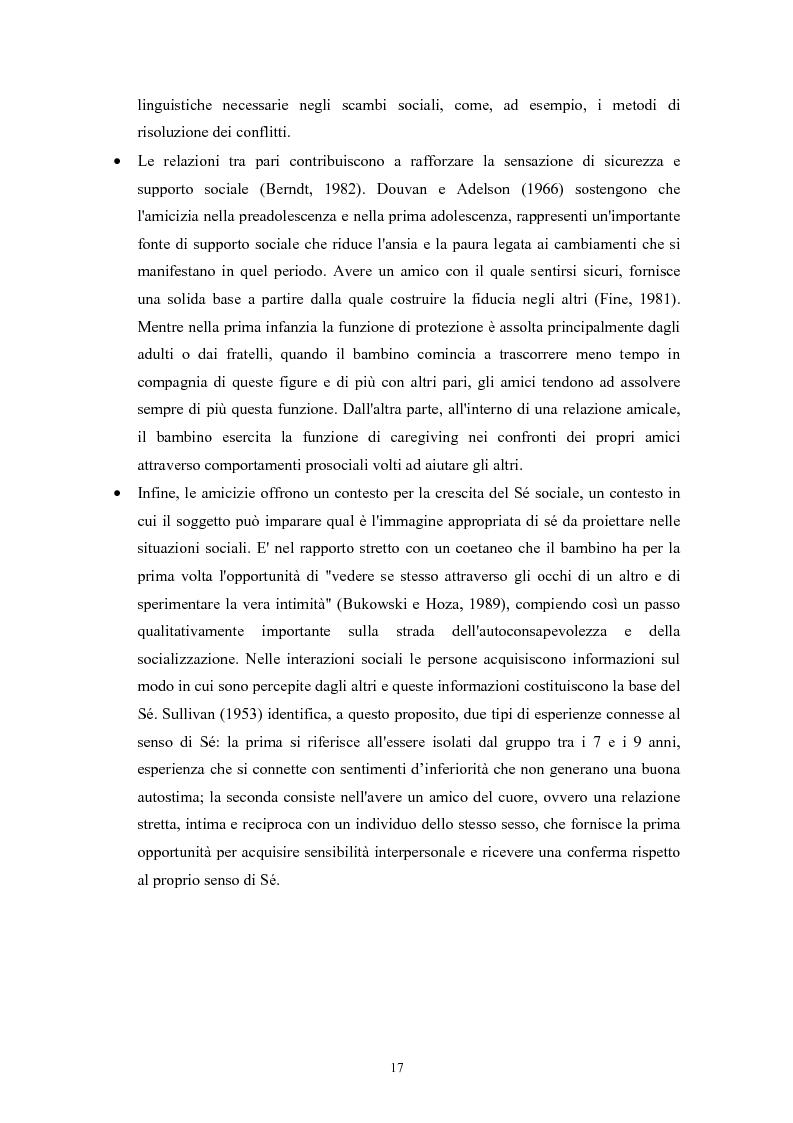 Anteprima della tesi: Caratteristiche temperamentali e stili di attaccamento nello sviluppo della competenza sociale: uno studio osservativo, Pagina 13