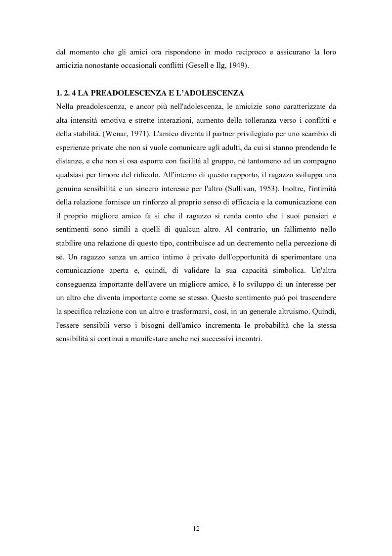 Anteprima della tesi: Caratteristiche temperamentali e stili di attaccamento nello sviluppo della competenza sociale: uno studio osservativo, Pagina 8