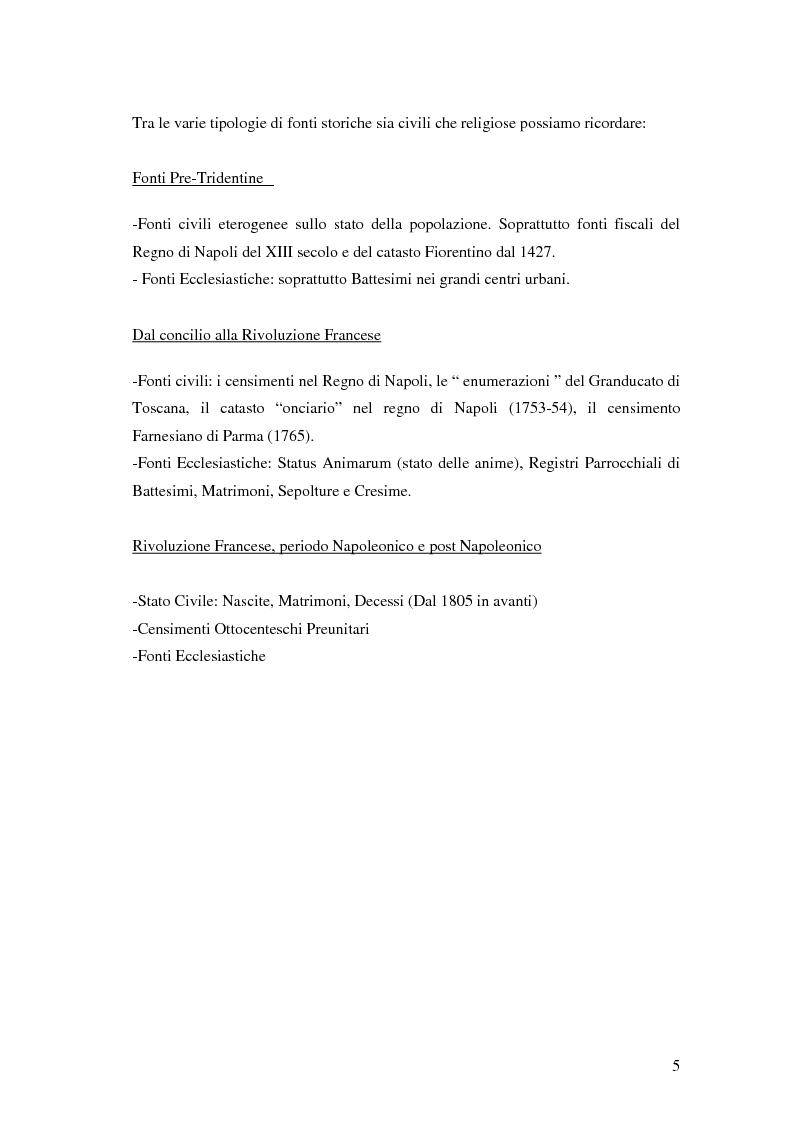 Anteprima della tesi: Analisi biodemografica di una popolazione dell'Appennino Parmense: Iggio (secoli XVIII-XX), Pagina 2