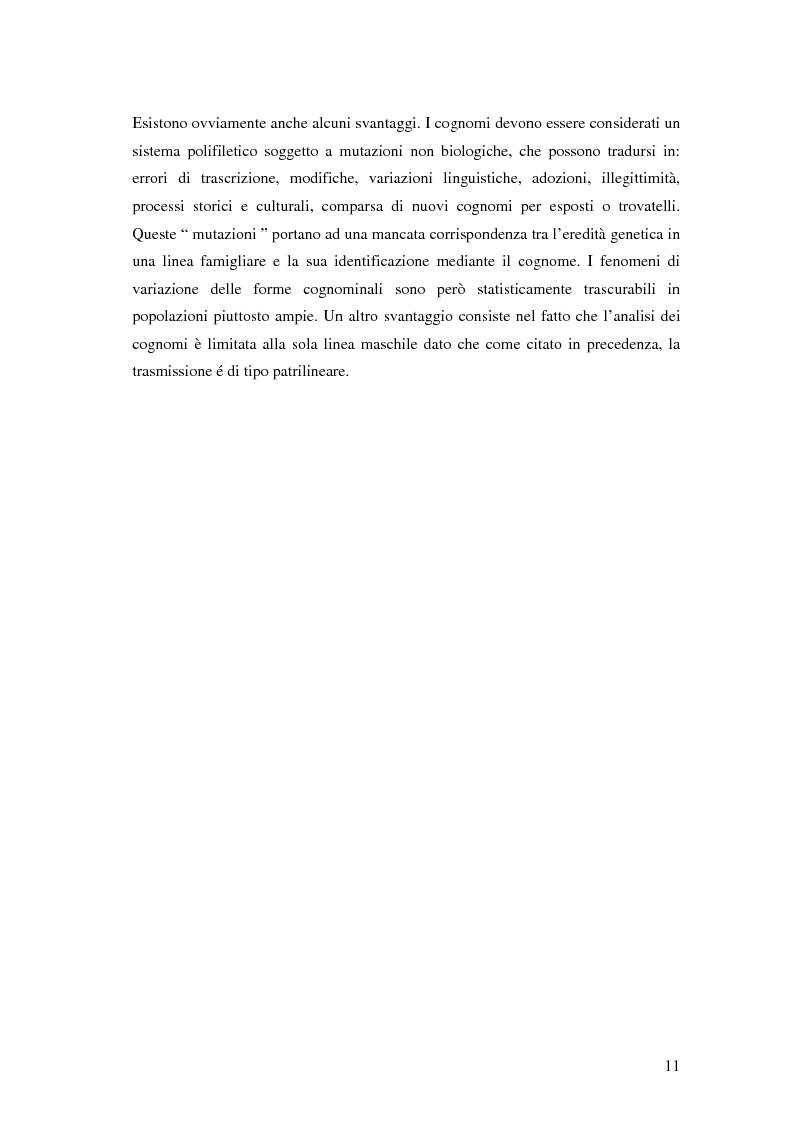 Anteprima della tesi: Analisi biodemografica di una popolazione dell'Appennino Parmense: Iggio (secoli XVIII-XX), Pagina 8