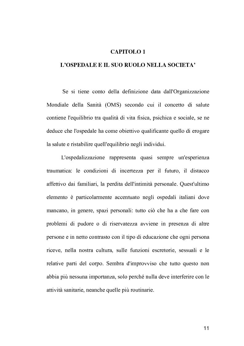 Anteprima della tesi: La comunicazione come strumento terapeutico: l'importanza della raccolta dei dati nel processo di nursing, Pagina 10
