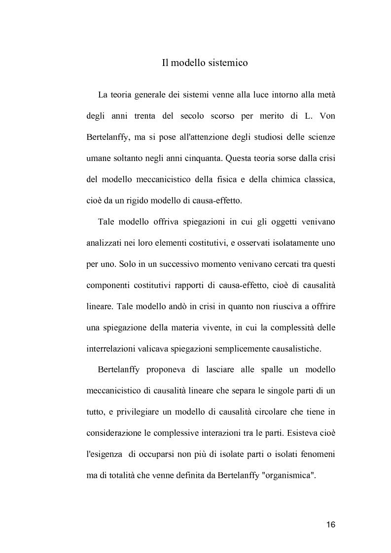 Anteprima della tesi: La comunicazione come strumento terapeutico: l'importanza della raccolta dei dati nel processo di nursing, Pagina 15