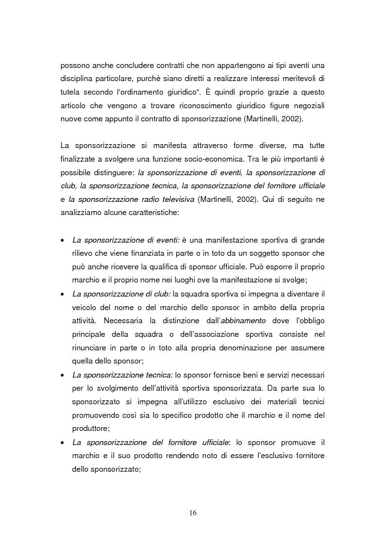 Anteprima della tesi: Le sponsorizzazioni nel settore della vela: i casi Bix-Dynameeting e Paul&Shark, Pagina 13