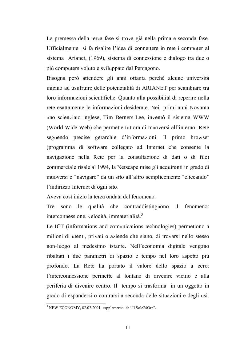 Anteprima della tesi: La tutela del consumatore nella new economy, Pagina 8
