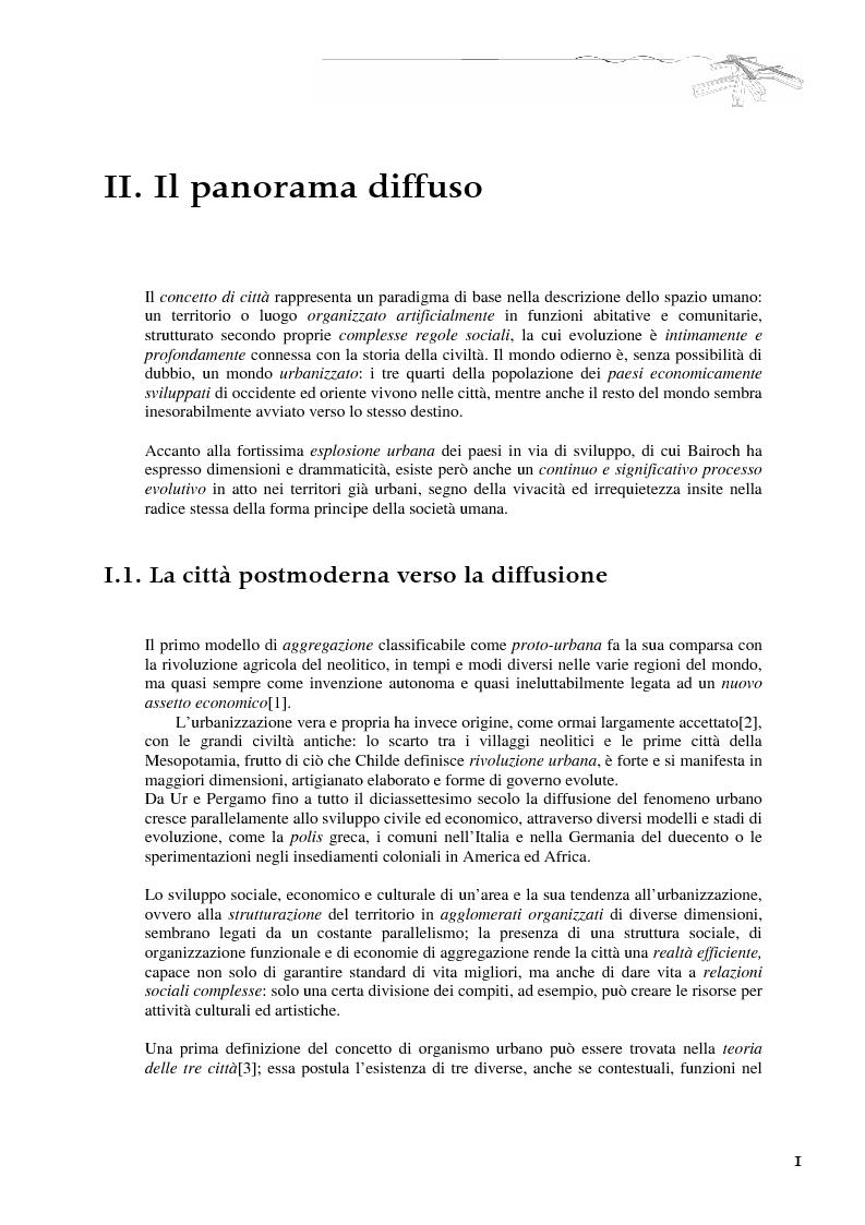 Anteprima della tesi: Il tram-treno: un segno attraverso la città diffusa, Pagina 5
