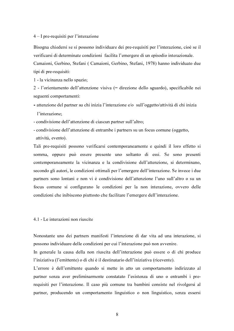 Anteprima della tesi: Conoscenze, atteggiamenti e sentimenti intorno ai pari in condizioni di disabilità. Uno studio nella scuola elementare, Pagina 8