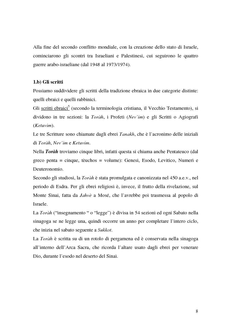 Anteprima della tesi: L'identità ebraica laica. Un confronto tra la prospettiva italiana e quella statunitense, Pagina 11