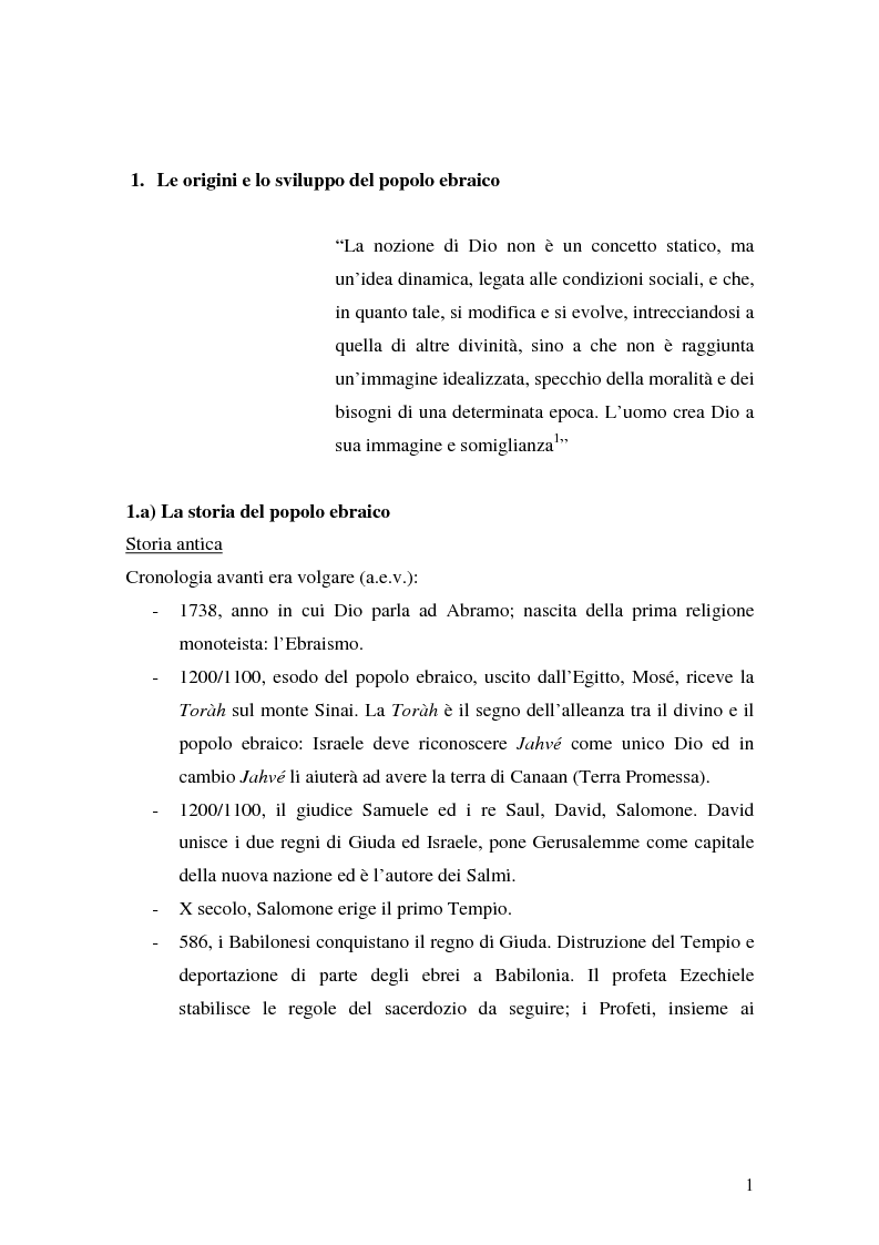 Anteprima della tesi: L'identità ebraica laica. Un confronto tra la prospettiva italiana e quella statunitense, Pagina 4