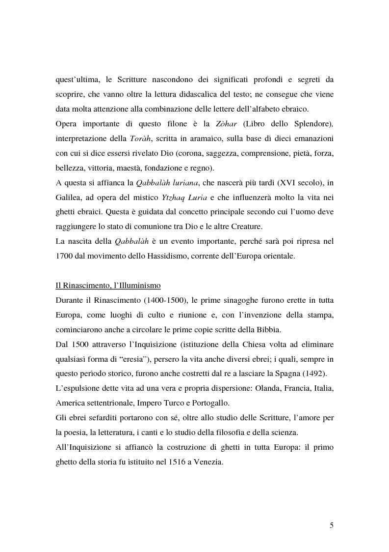 Anteprima della tesi: L'identità ebraica laica. Un confronto tra la prospettiva italiana e quella statunitense, Pagina 8
