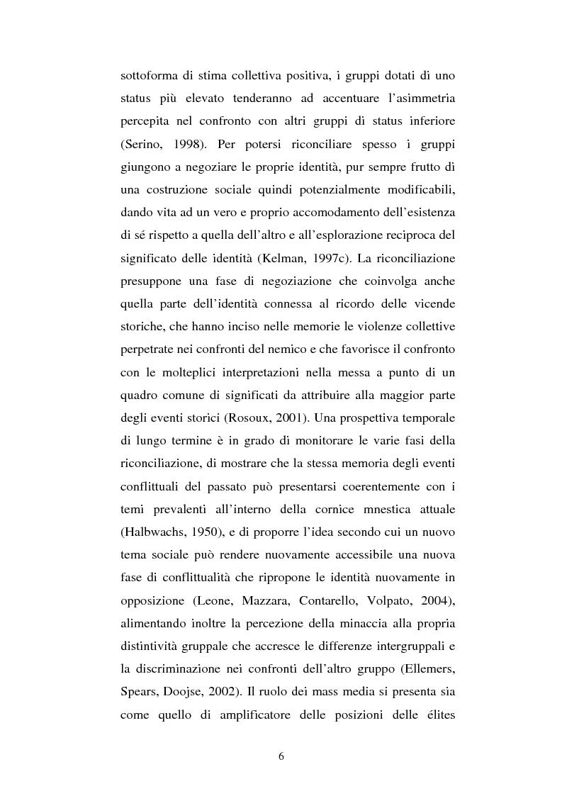Anteprima della tesi: L'identità negoziata nel processo di riconciliazione. Uno studio sul caso franco-tedesco, Pagina 6