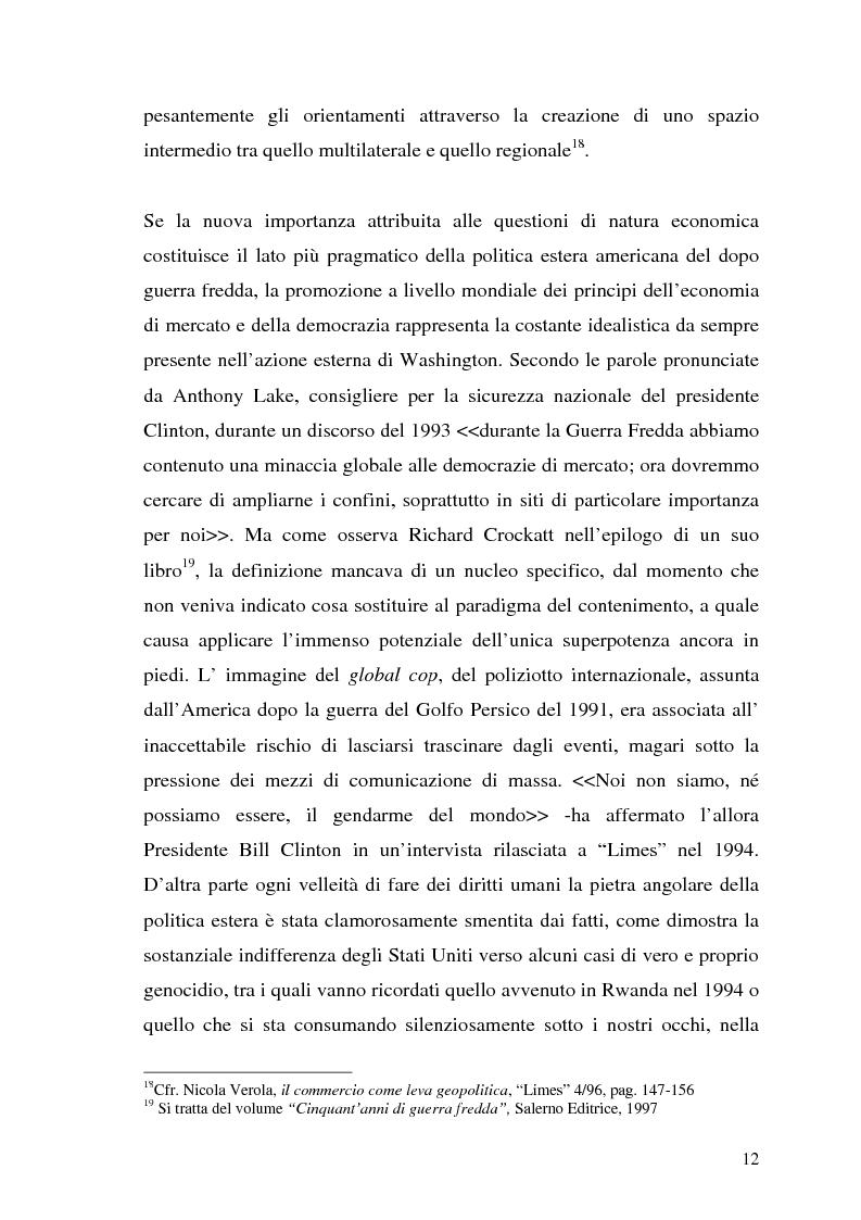 Anteprima della tesi: I limiti geopolitici dell' Europa nell'era della globalizzazione. Il contributo di Limes al dibattito sull'evoluzione dell' identità internazionale europea dopo il 1989., Pagina 10