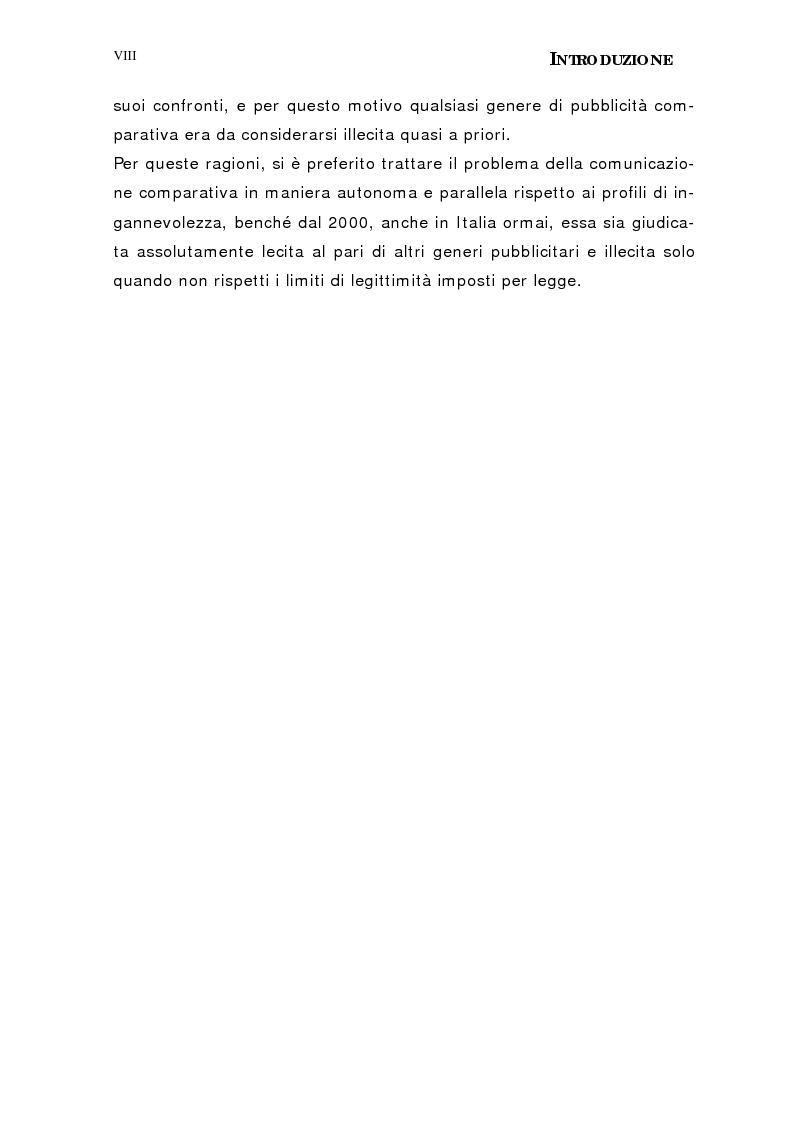 Anteprima della tesi: Le insidie della pubblicità. Tutela del consumatore e del concorrente., Pagina 5