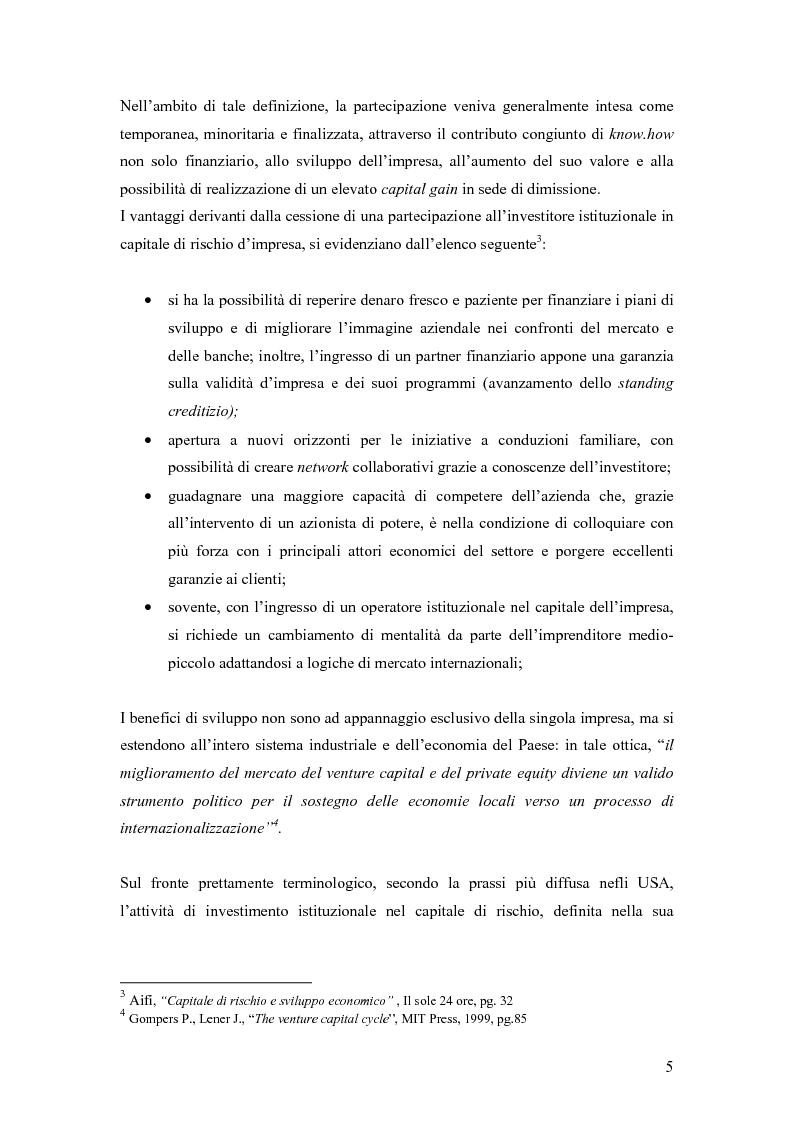 Anteprima della tesi: Il private equity per la crescita delle imprese, Pagina 2