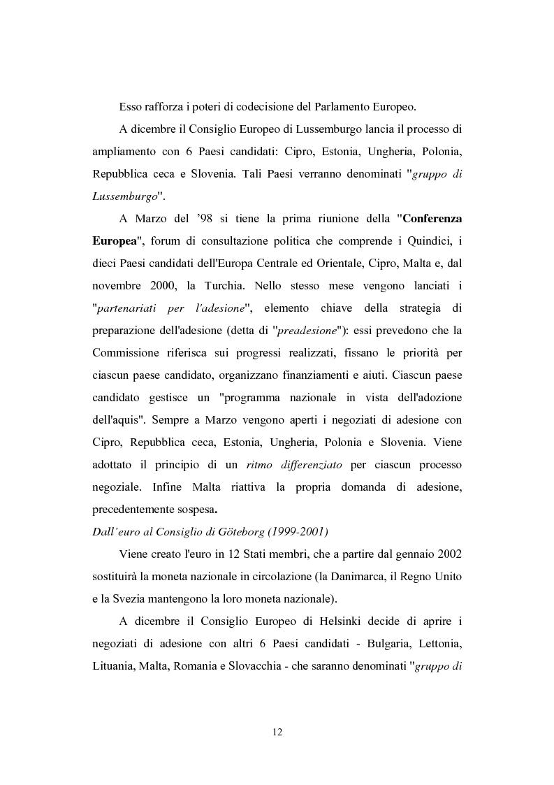 Anteprima della tesi: L'ingresso della Slovenia nell'Unione Europea, Pagina 10