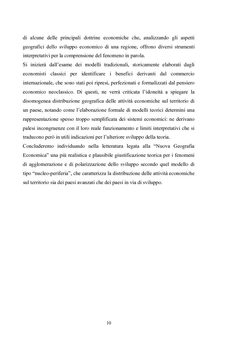 Anteprima della tesi: Le politiche regionali dell'Unione europea nella prospettiva dell'allargamento, Pagina 7
