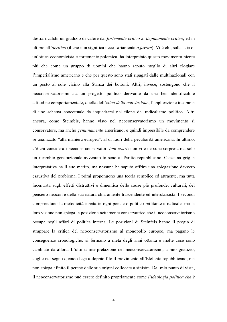 Anteprima della tesi: Il movimento neoconservatore statunitense, Pagina 2