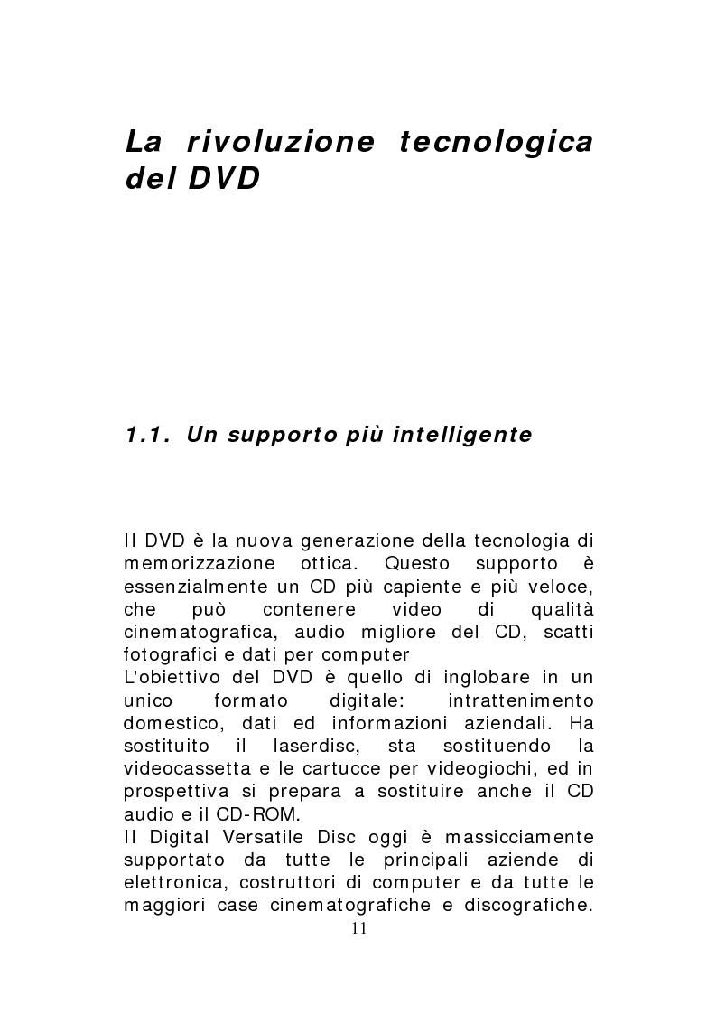 Anteprima della tesi: Scena(ri) in movimento - Un nuovo medium per una vecchia tradizione: il DVD, Pagina 7