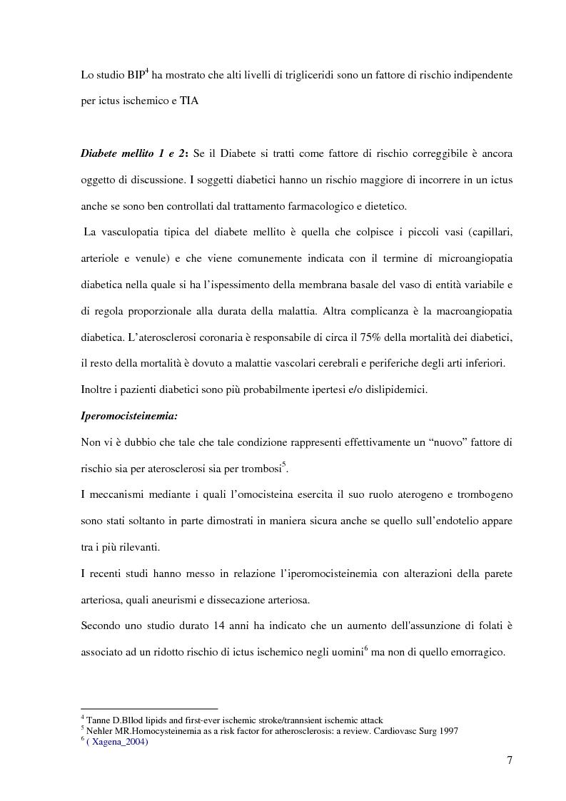 Anteprima della tesi: Ruolo del fisioterapista nella stroke unit, Pagina 5