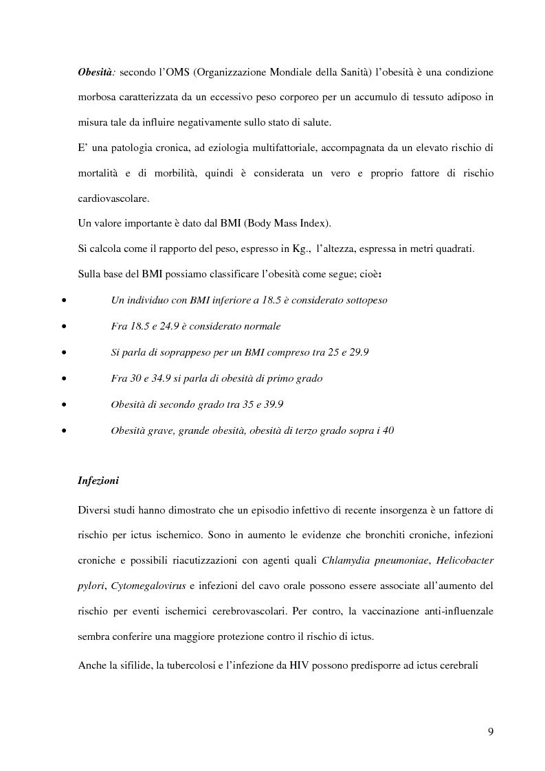 Anteprima della tesi: Ruolo del fisioterapista nella stroke unit, Pagina 7