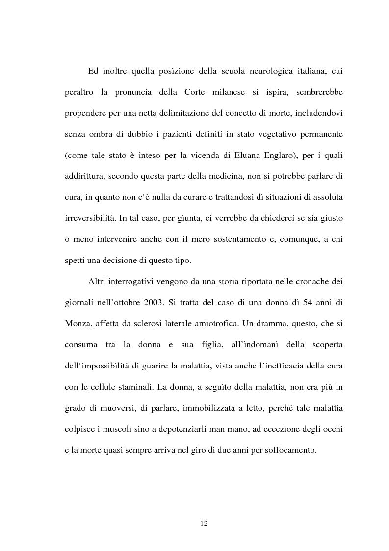 Anteprima della tesi: Il diritto alla dolce morte e i suoi argomenti. Profili di filosofia del diritto, Pagina 12