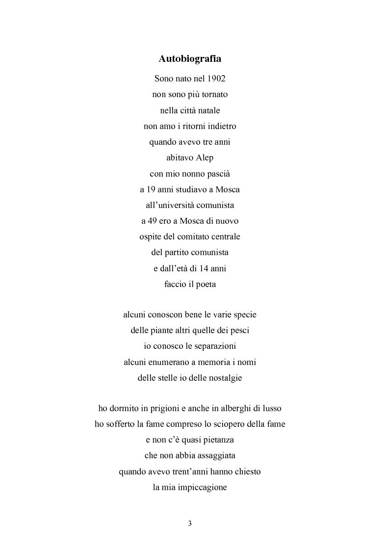 Nazim Hikmet Un Uomo E Un Poeta In Continua Evoluzione Tesi Di