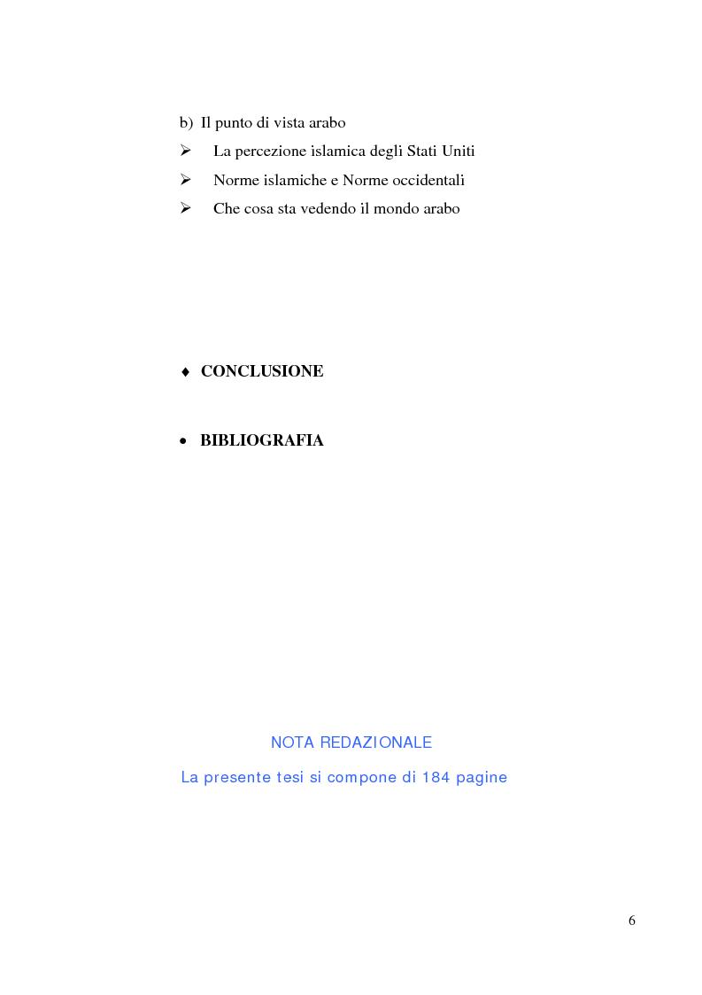 Indice della tesi: Costruttivismo e scienza politica: il ruolo delle idee nelle relazioni internazionali, Pagina 5