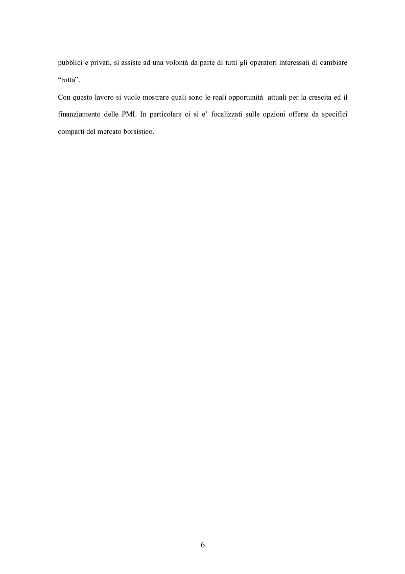 Anteprima della tesi  Il mercato borsistico per le piccole e medie imprese  - Analisi Geox. « cada231552a