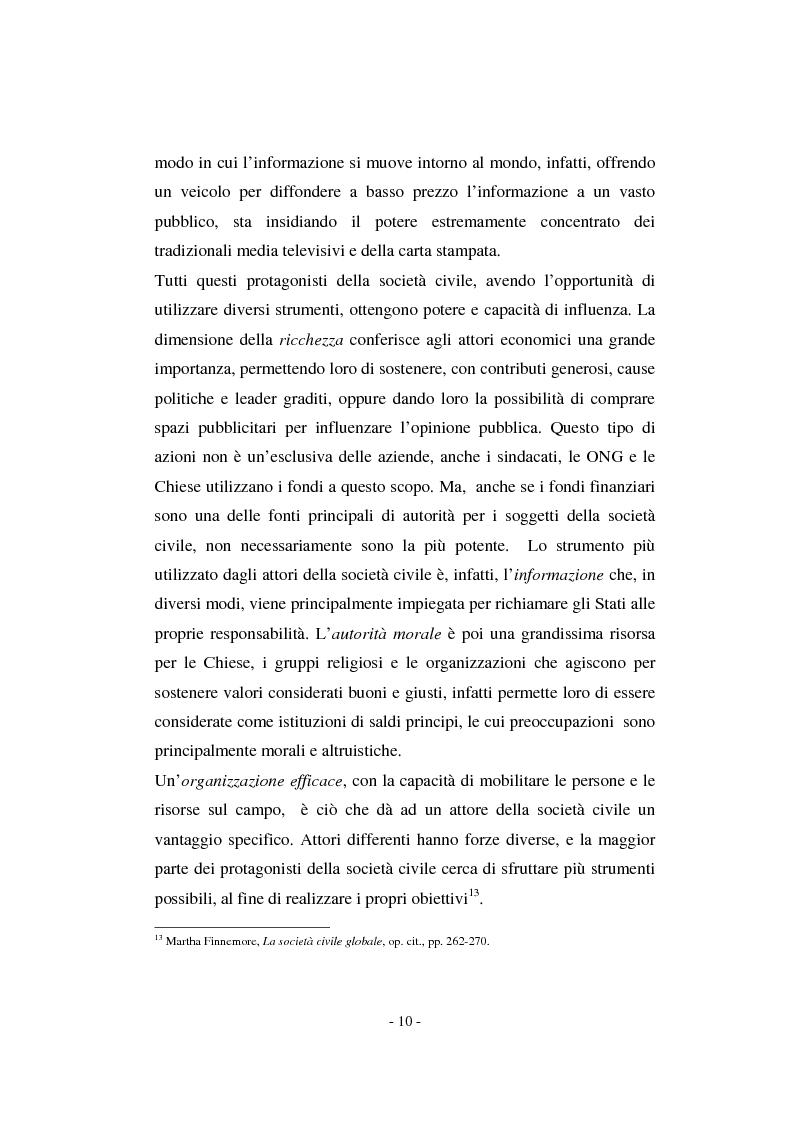 Anteprima della tesi: Il contributo della società civile e delle Organizzazioni Non Governative allo sviluppo dei programmi comunitari, Pagina 10