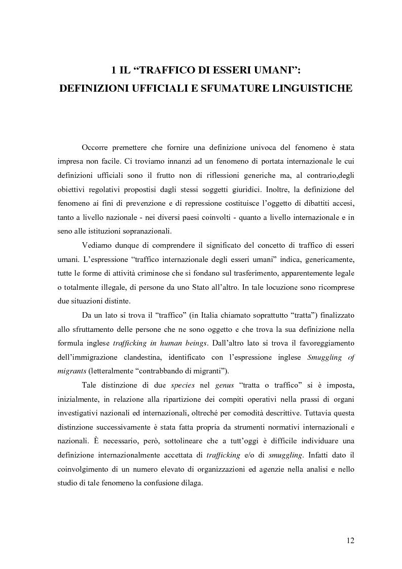Anteprima della tesi: Il Traffico di Minori: Fattualità di un Fenomeno Mondiale, Pagina 6