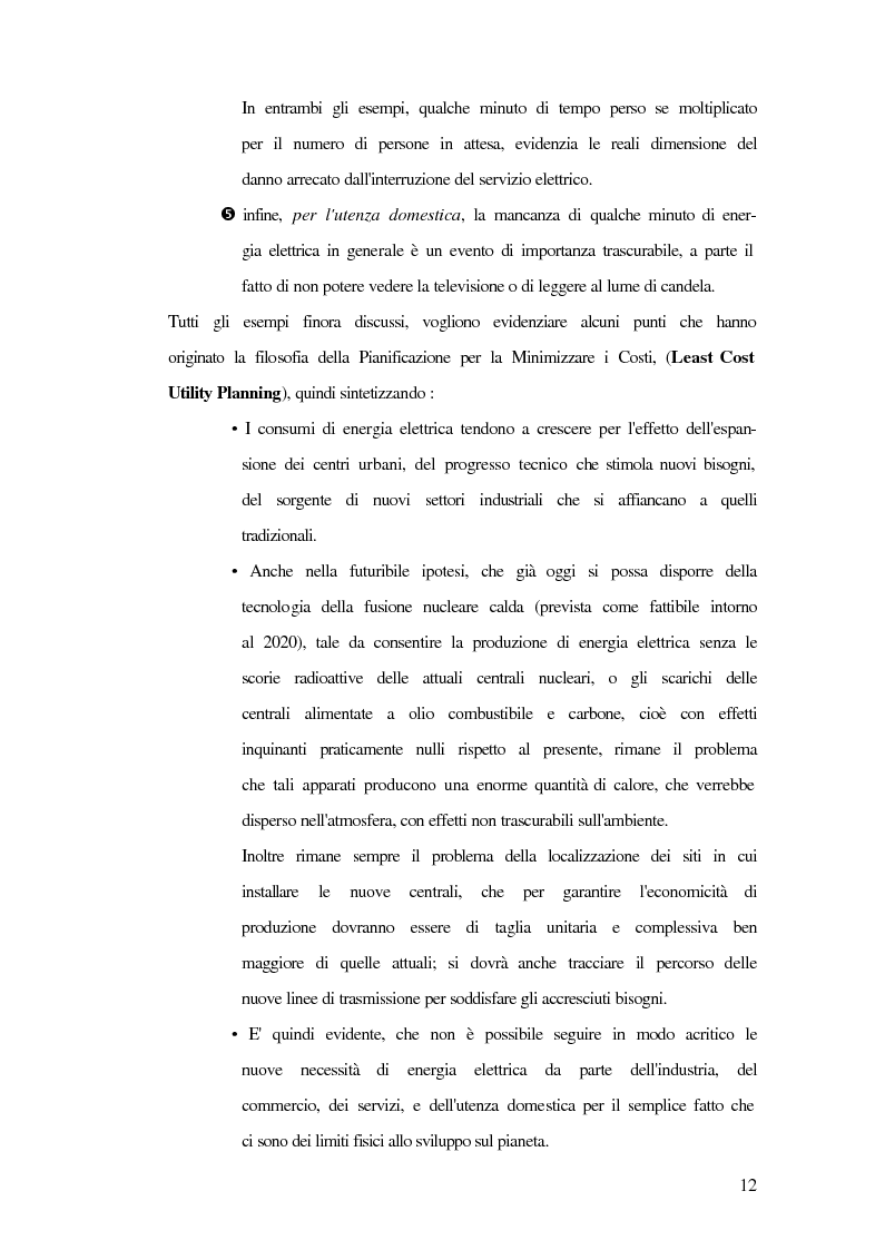 Anteprima della tesi: Metodi innovativi di pianificazione delle imprese elettriche, Pagina 12