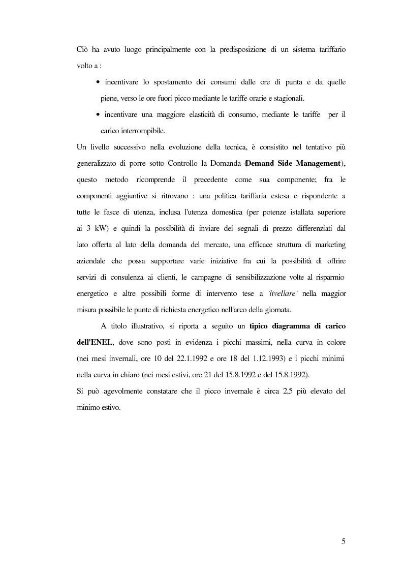 Anteprima della tesi: Metodi innovativi di pianificazione delle imprese elettriche, Pagina 5